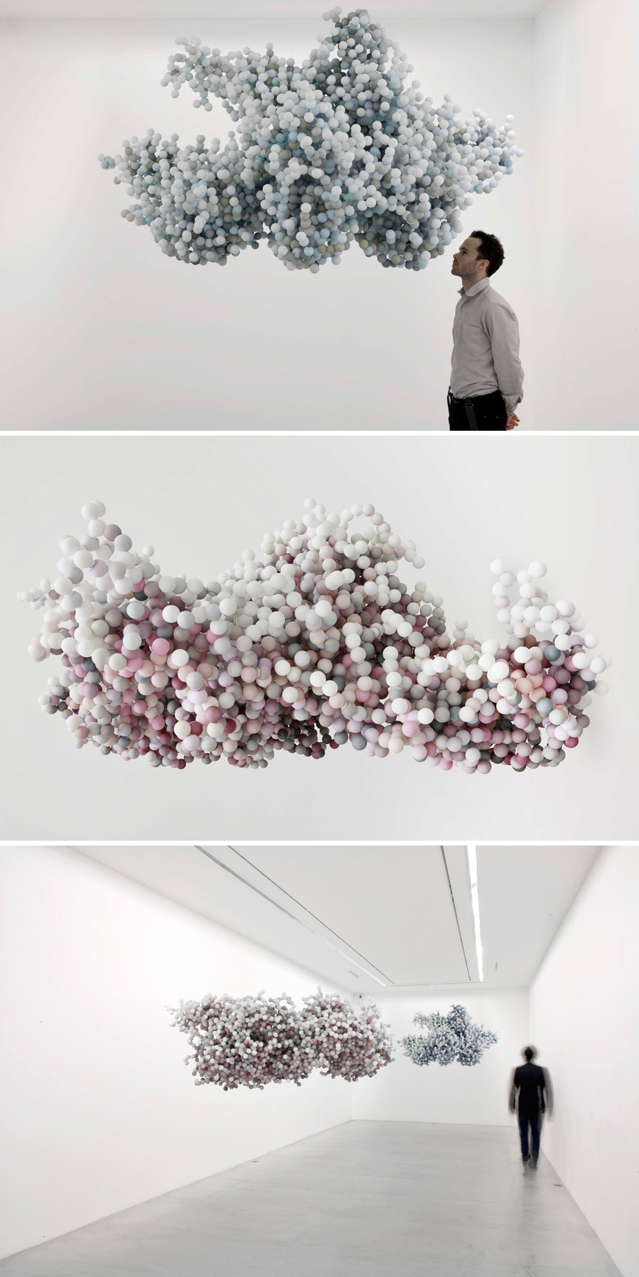 Daniel Arsham Pixel Clouds Collabcubed