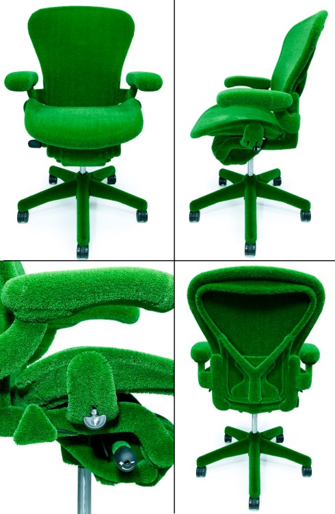 Aeron Chair with AstroTurf