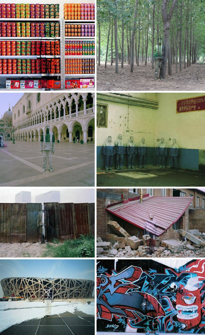 Liu Bolin The Invisible Man