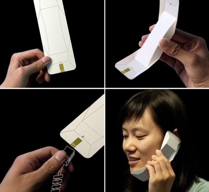 Origami Handset