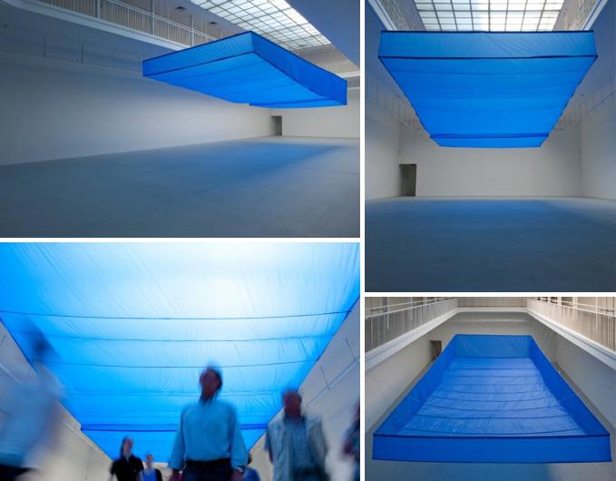 Ayse Erkmen Bluish Art Installation