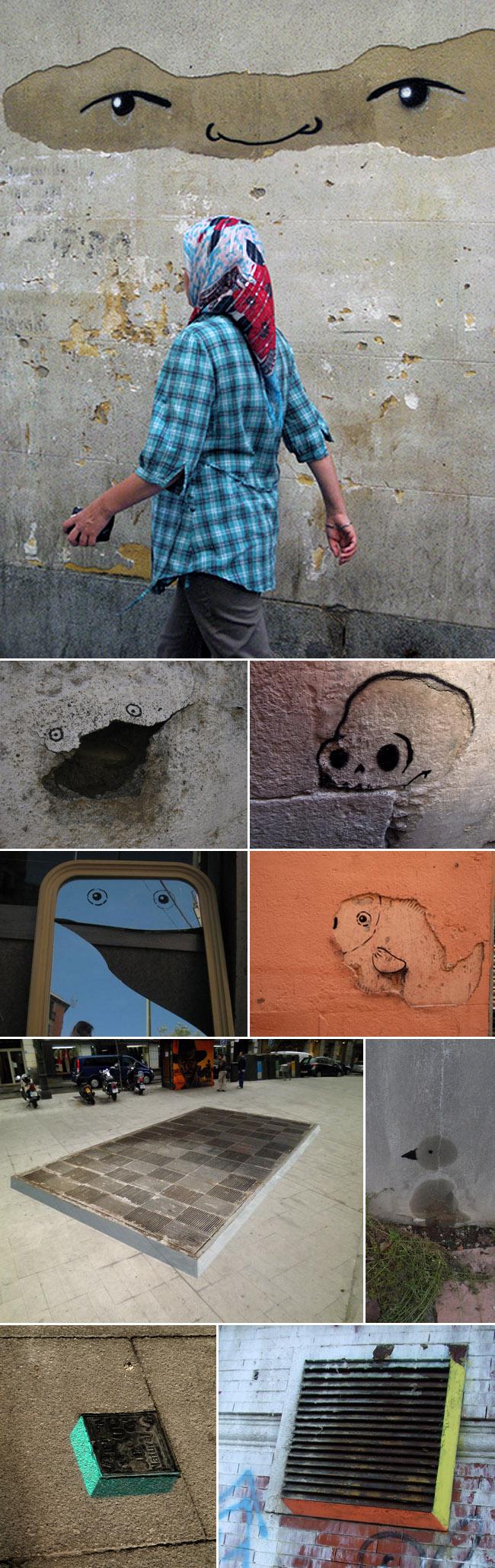 e1000ink Street Art Spain