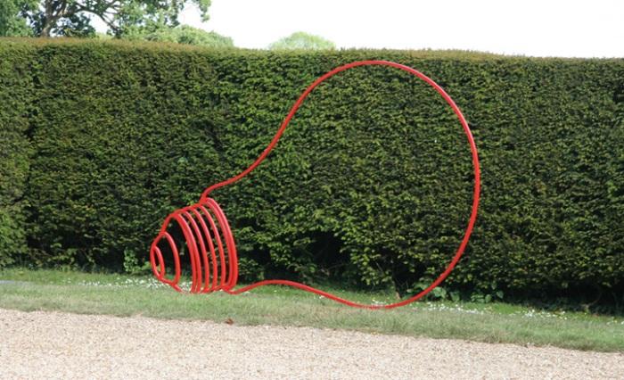 Craig-Martin Sculptures at New Arts Centre