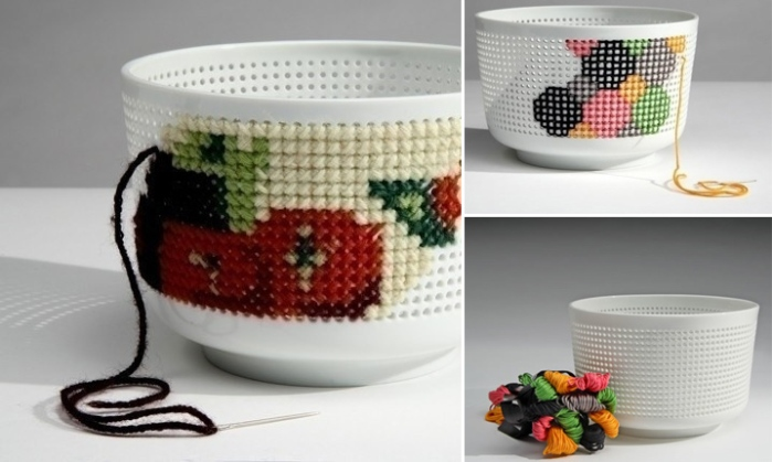Needlework Trend in Design