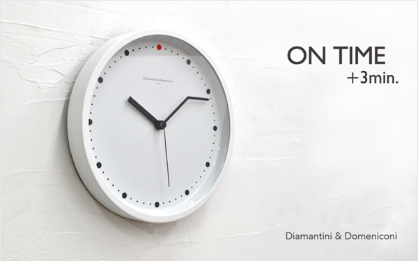 On Time Wall Clock. Clock Diamantini U0026 Domeniconi Collabcubed ... Awesome Design