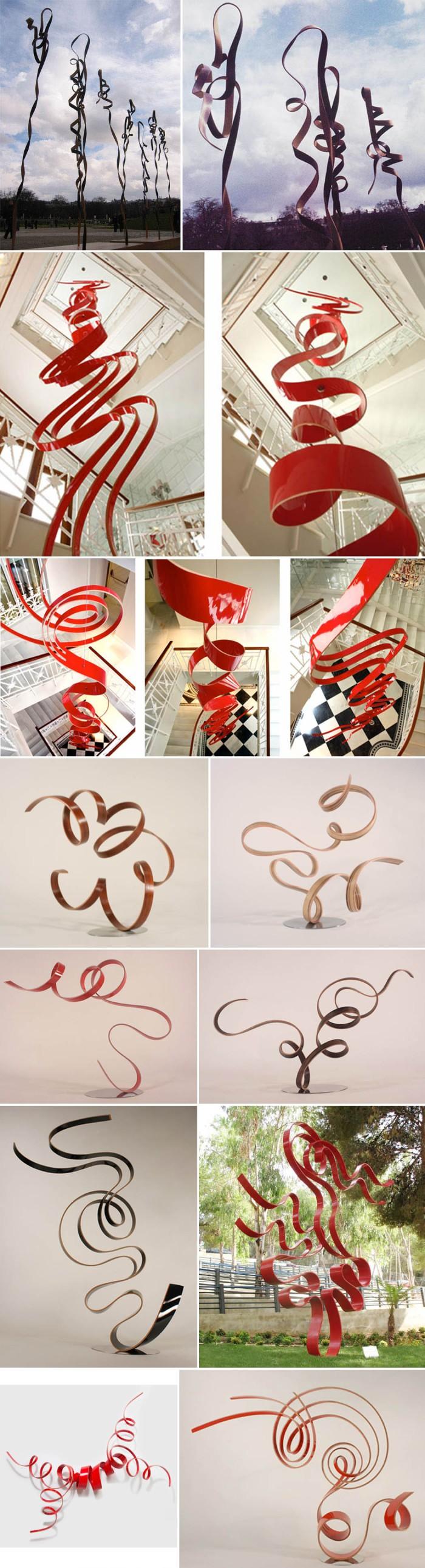 art, sculpture, wood curves, spanish sculptor