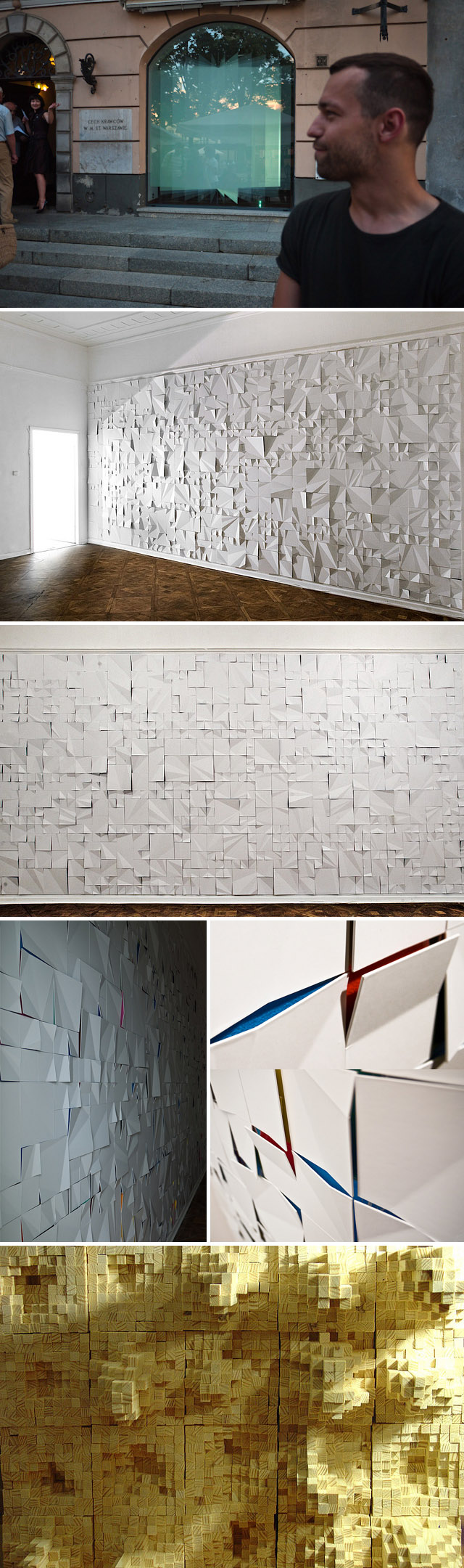 art installation, sculpture, Polish artist, collabcubed