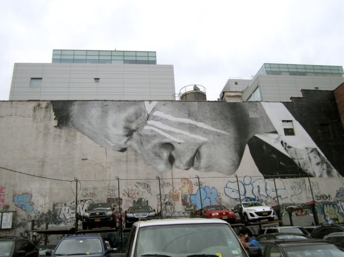 JR, street art, NYC, Inside Out Project