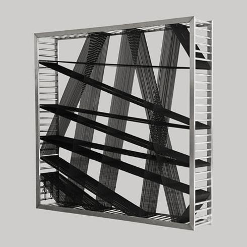 furniture design, industrial design, rope bookshelf