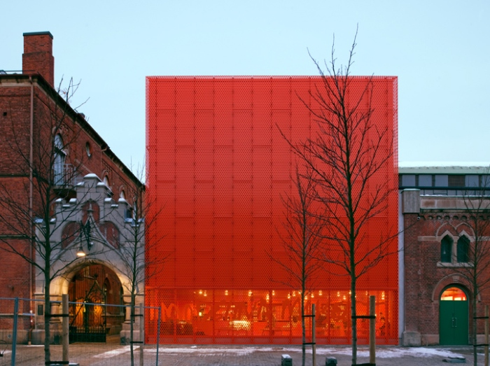 Stockholm art museum, modern architecture