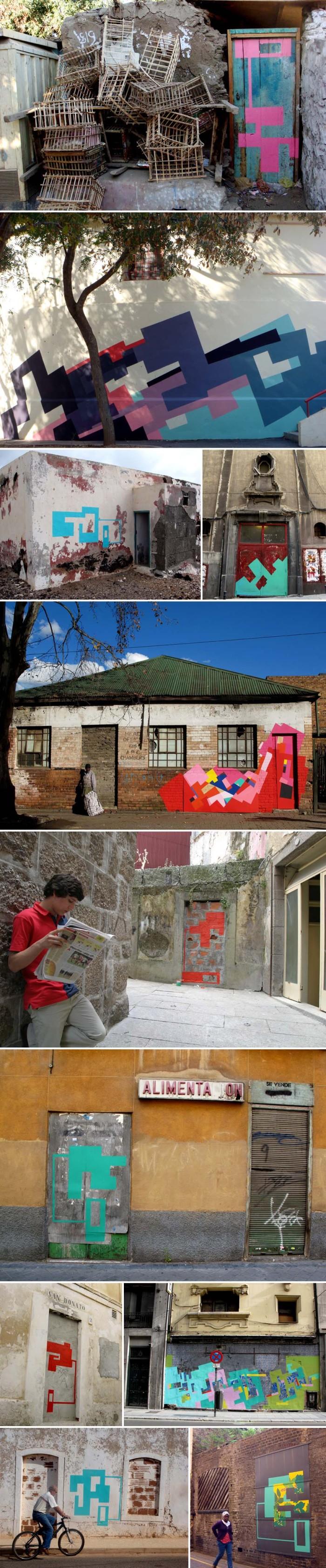 Street Art, Graffiti, Spain, Female Street Artist