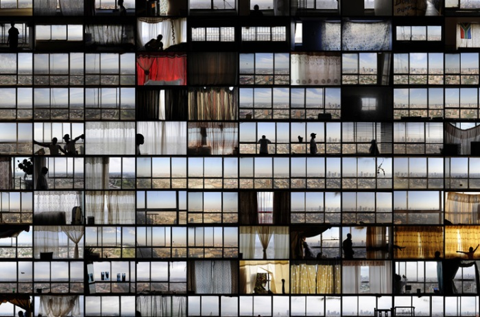 Mikhael Subotzky and Patrick Waterhouse photo light panels