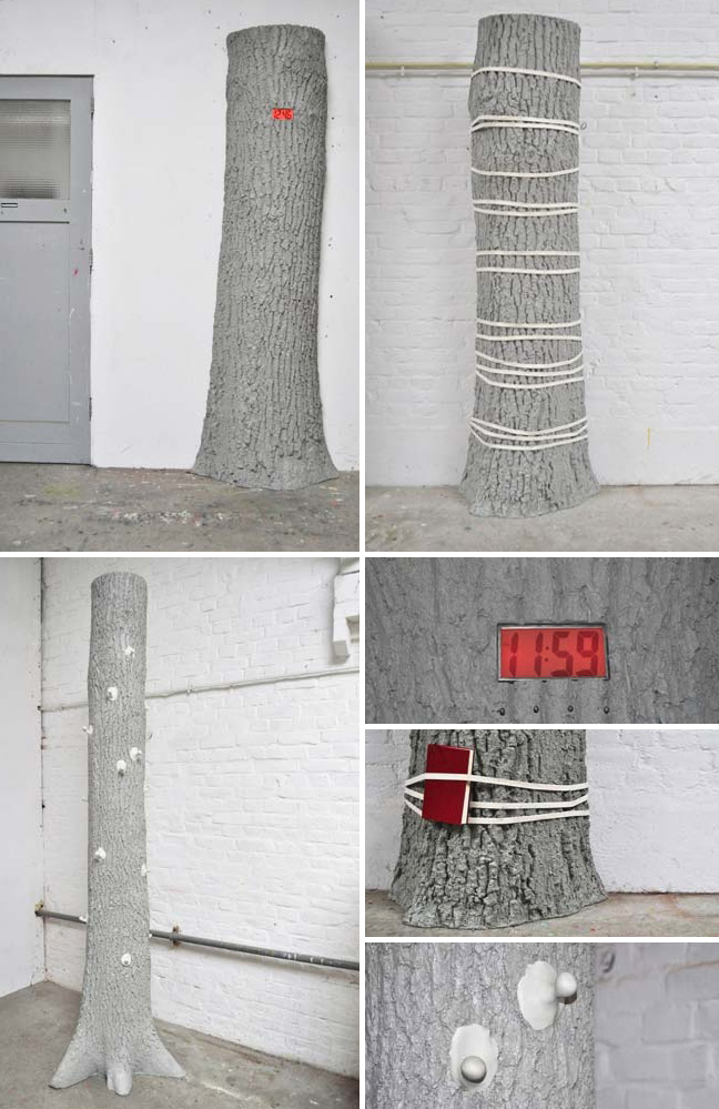 art installation, industrial design, functional trees