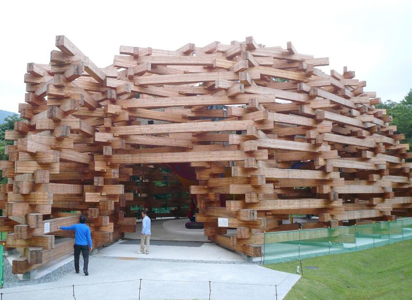 Hakone Open Air Museum Pavilion Collabcubed