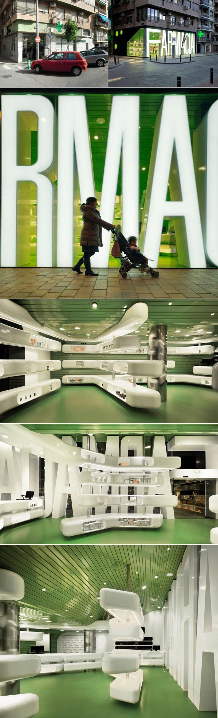 Renovation, Pharmacy, Murcia, Spain, Type, Architecture, Store design