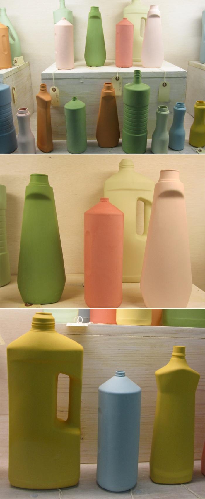 Porcelain Cleaning Bottle vases, Middle Kingdom, design