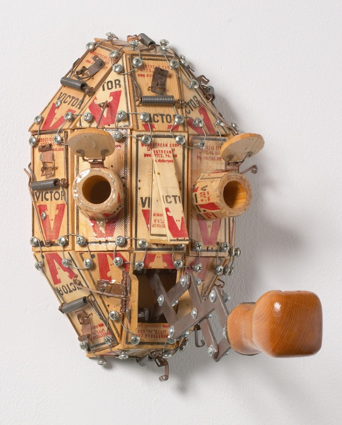 Masks, kinetic, interactive sculpture, witty art masks, mythology