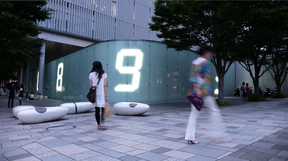Tatsuo Miyajima Counter Void In Tokyo Collabcubed
