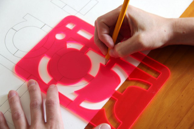 Typography, game, stencil, type, dahm