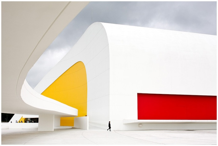 Oscar Niemeyer, Asturias, Aviles, Spain, Architecture, collabcubed