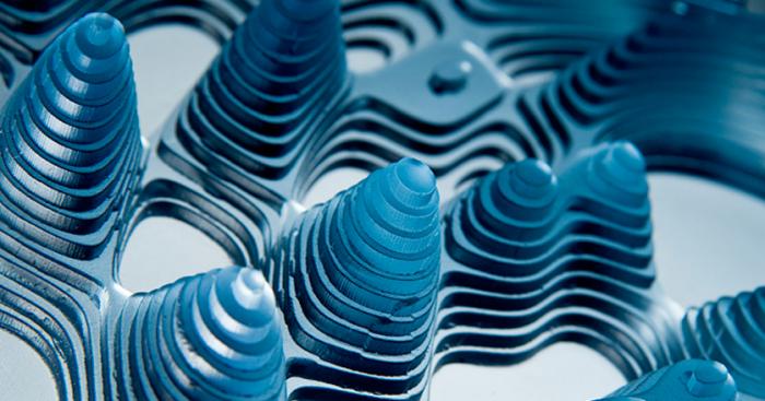 glass sculpture, rippled layered glass, malta design week