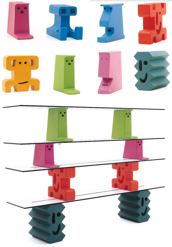 furniture design, kids, shelves, valencia design