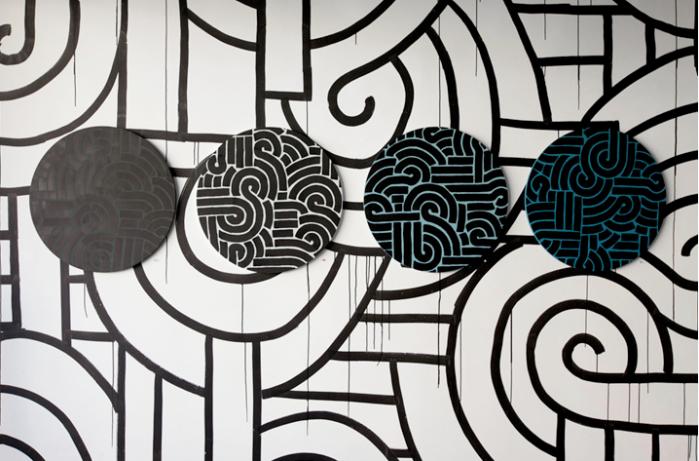 Aaron de la cruz street art, graffiti, LA street art, Honolulu, collabcubed