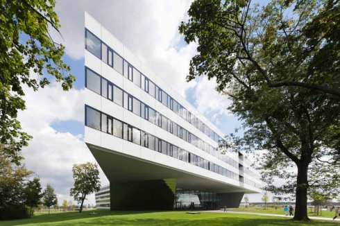 Laces office building, Herzogenaurach, Germany, Typography, collabcubed