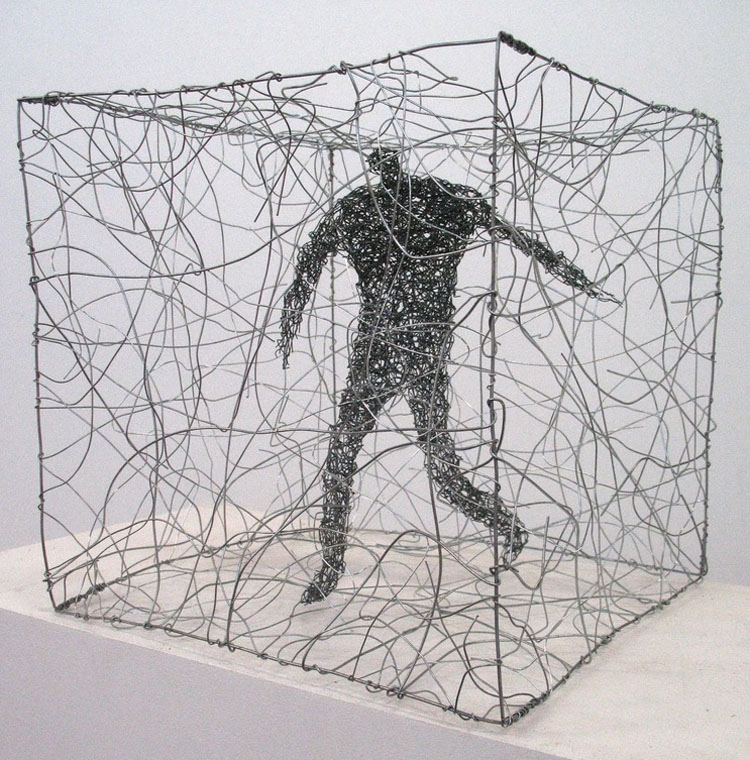 Barbara Licha: Wire Figures | CollabCubed