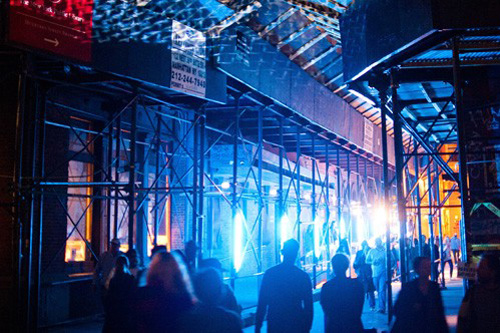 Light Festival, Nuit Blanche, Greenpoint, Art, Installations