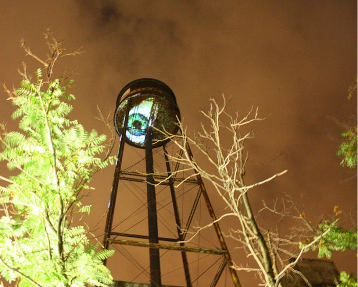 Bring to Light Festival, nuit blanche, greenpoint, marcos zotes-lopez, eye, collabcubed