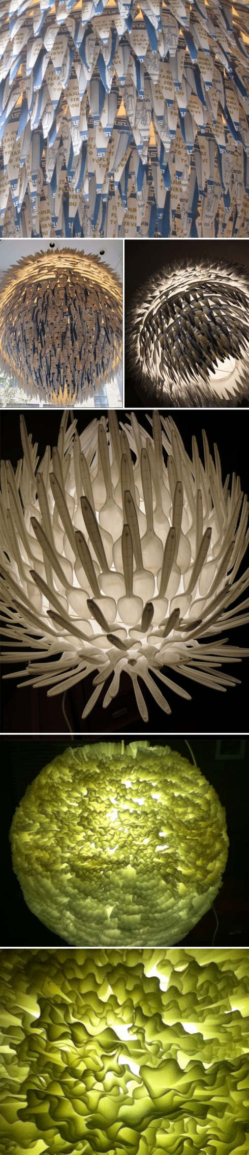 Chris DuCharme, cool lamps, coffee cups, filters, spoons, collabcubed