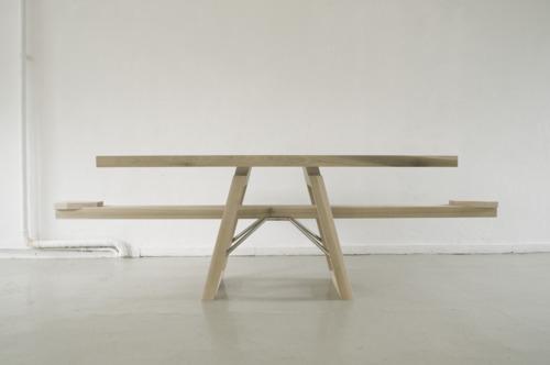 Dutch product design, table, seesaw, DDW, fun furniture