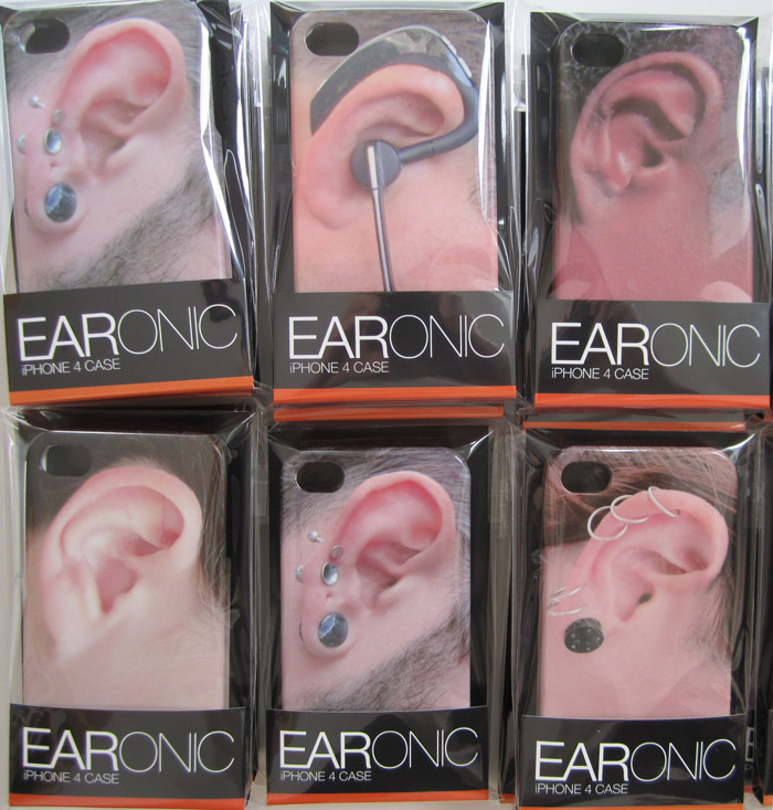 EARonics, iPhone 4G cases, iPhone 4s Cases, Ears, Fun Cases