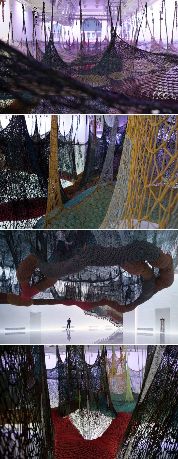 art installation, Ernesto Neto, Faena Arts Center, contemporary art