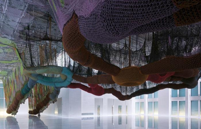 art installation, Ernesto Neto, Buenos Aires, contemporary art
