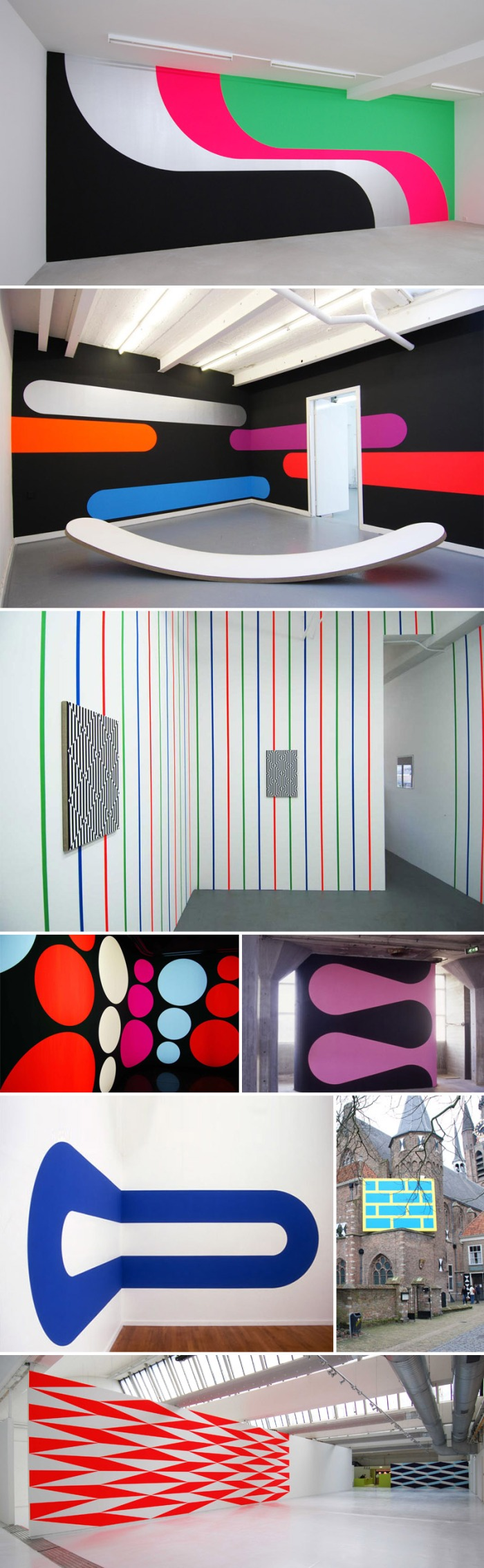 Jan van der Ploeg wall paintings, collabcubed