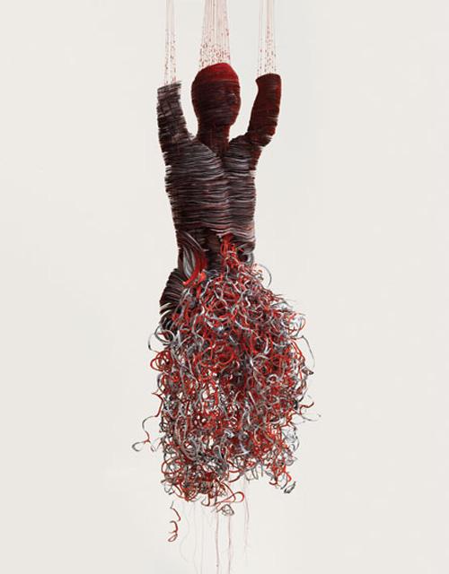 medical imaging sculpture, talking wounds, political sculpture