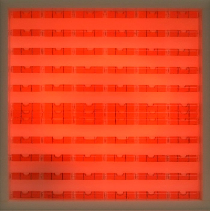 Levels, contemporary art, abstract, australian artist, neon, level compositions