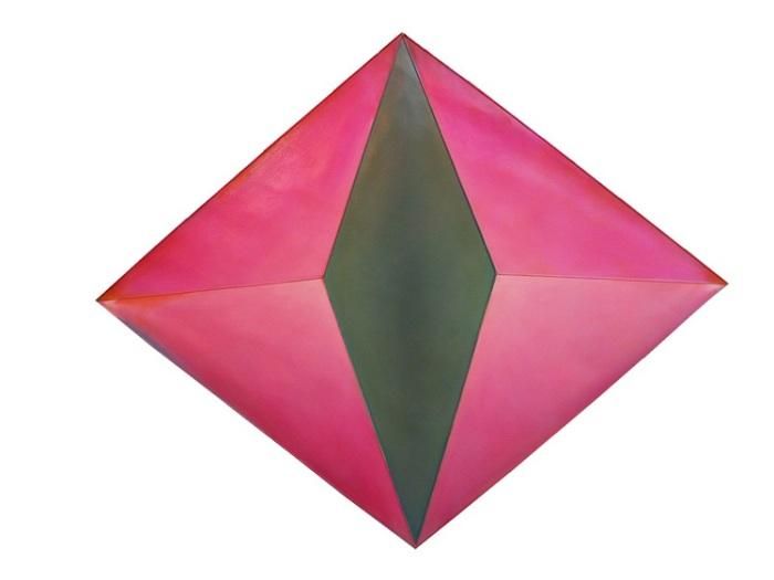 Yvette Cohen, NY artist, 3-D Paintings, Cassina exhibit