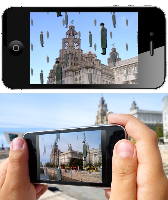 Magritte Your World, App, fun gadget, video app