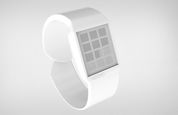 watch design, nooka, magnetic, pixels, mario troise