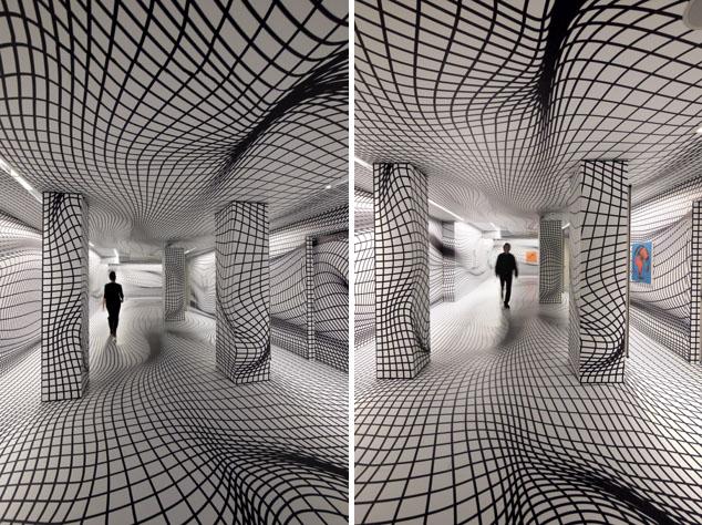 Peter Kogler: Spatial Illusion