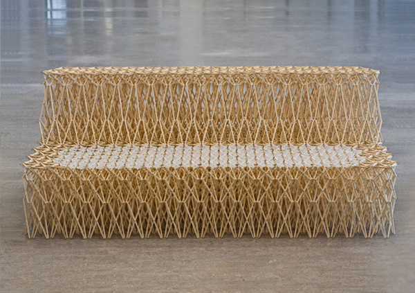 Yuya Ushida Sofa Xxxx And Stool Collabcubed