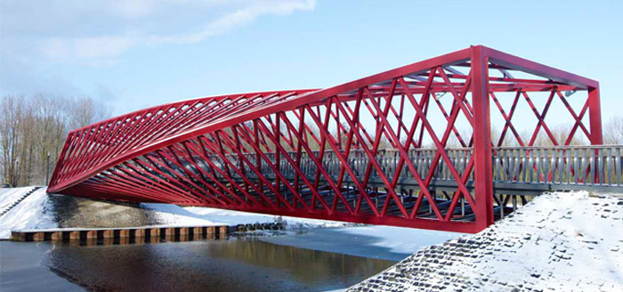 De Twist Brug, Vlaardingse Vaart, Netherlands, 8 West Architects, ABT