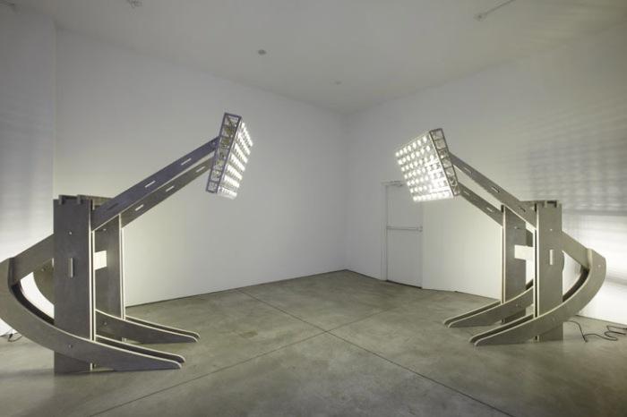 Contemporary Cuban Art, Humor, Sculpture, Town Stadium Lights, Sean Kelly