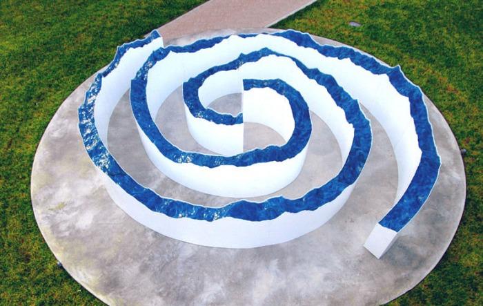 Art installation, contemporary sculpture, collins park, Light sculpture, Miami Basel, Brian Tolle