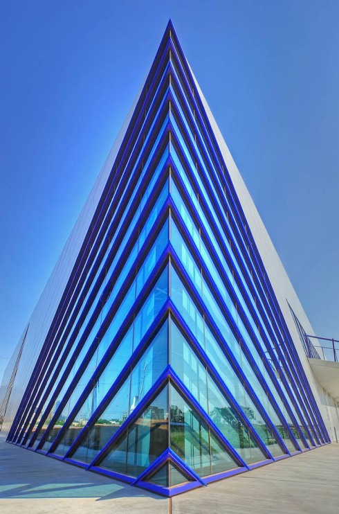 Oklahoma City Riverfront, boathouse, Elliott + Associates, contemporary architecture