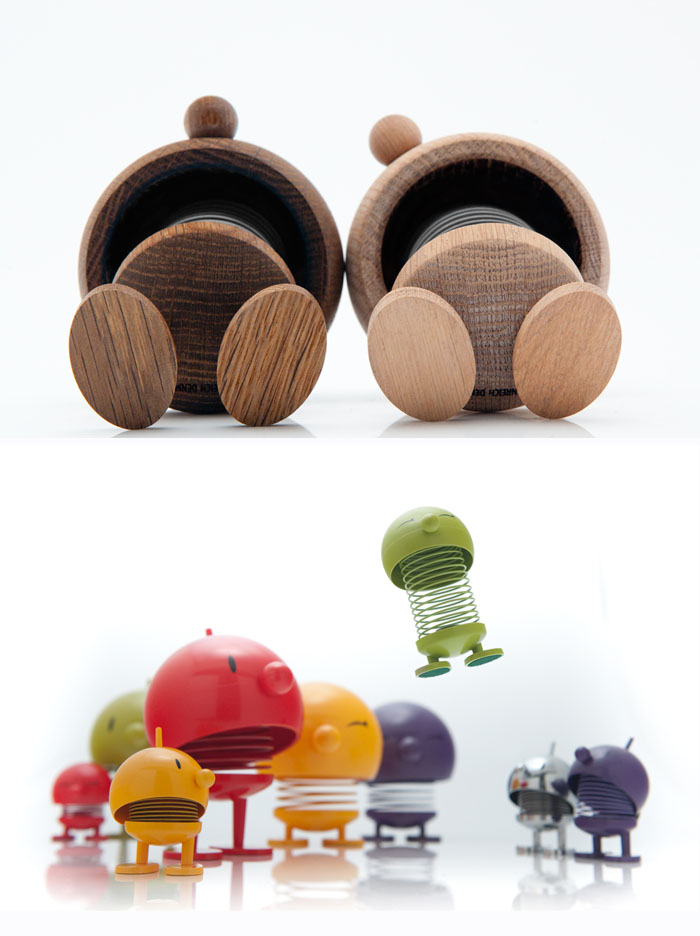 designy toys, wood toys, fun figurines, hoptimist, oak, cute, danish design
