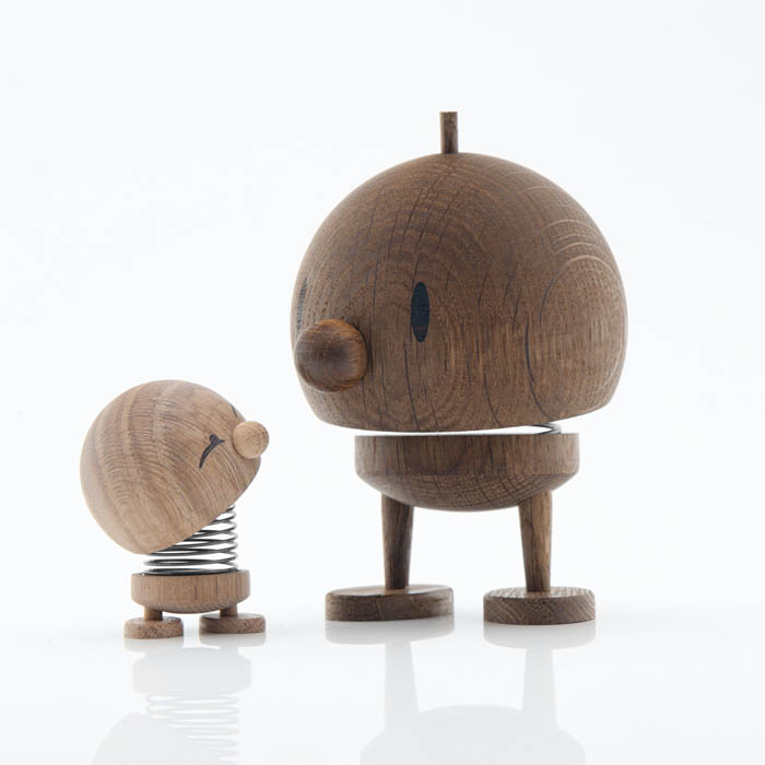 designy toys, wood toys, fun figurines, hoptimist, oak, cute